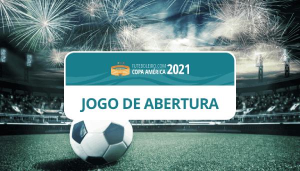 Copa América 2021 Jogo de Abertura