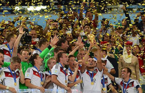 Alemanha Campeã Mundial de 2014