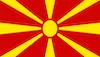 Bandeira Macedonia do Norte