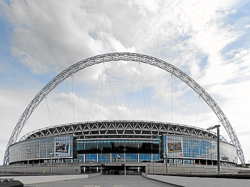 O Estádio de Wembley em Londres é o palco da final da Euro 2021