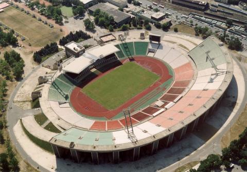 O antigo Estádio Ferenc Puskas em Budapeste