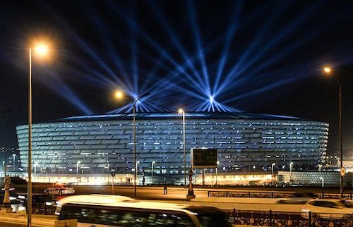 Sede da Eurocopa 2021: Estádio Nacional de Baku no Azerbaijão