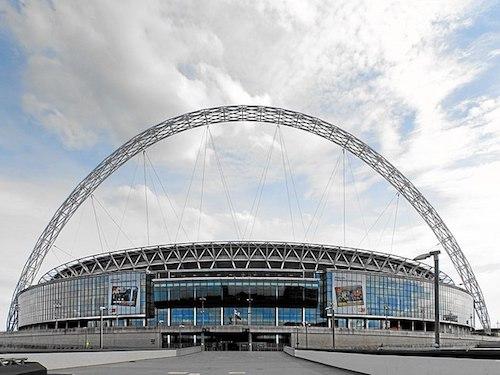 Estádio de Wembley como o sede para a eurocopa 2021 em Londres