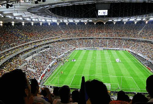 Sede da Eurocopa 2021 - A Arena Nacional em Bucareste