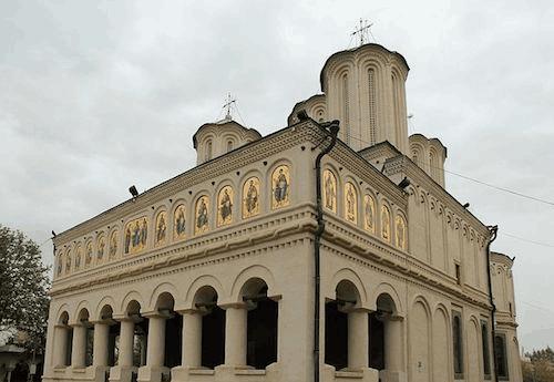 A catedral de Bucareste