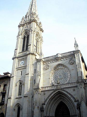 Catedral de Santiago em Bilbao