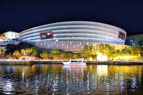 Estádio San Mamés Bilbao como sede da Euro 2021