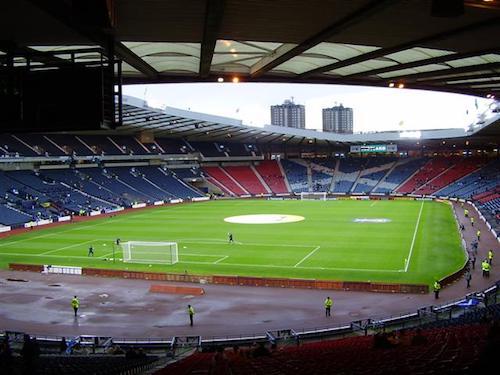 O Hampden Park em Glasgow é o palco da Euro 2021