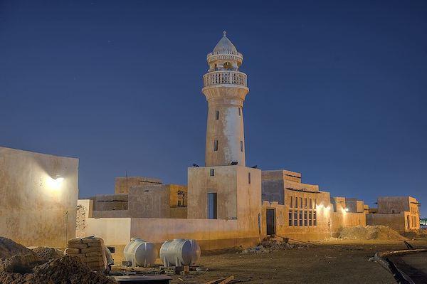 Antiga mesquita em al-Wakra