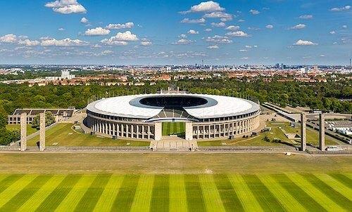 O Estádio Olímpico em Berlim como sede da EURO 2024