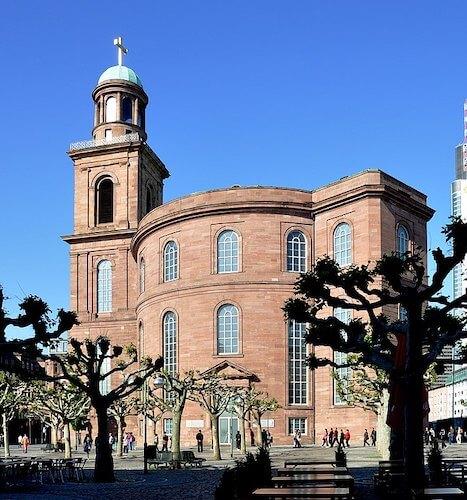 A Pauslkirche em Frankfurt am Main